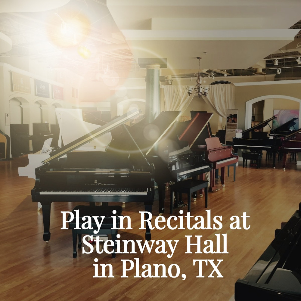 Piano Lessons - Plano - Play in Recitals with Gayla Rickard Piano Players & Singers
