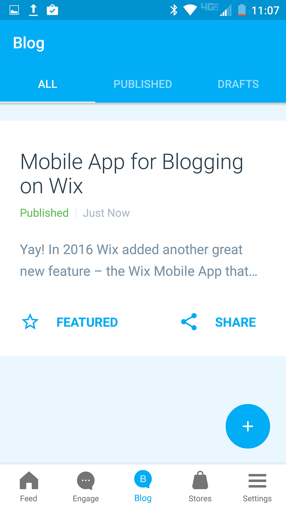 Wix Mobile App