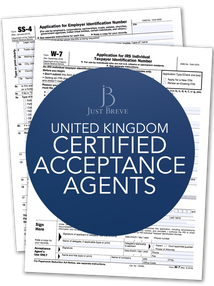 Certifying Acceptance Agent North England or Scotland