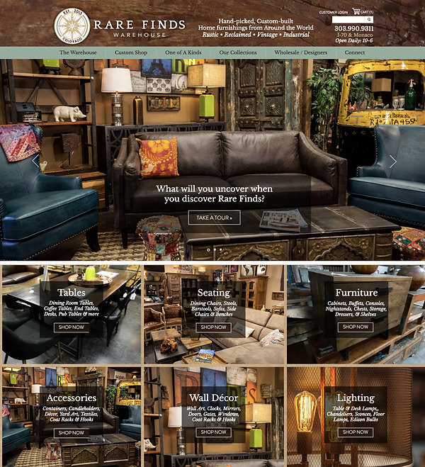 Best Wix Websites - Furniture Store