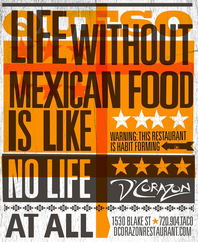 Mexican Restaurant Ad Graphic Designer