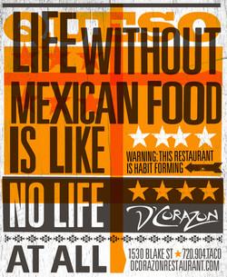 Mexican Restaurant Ad Designer