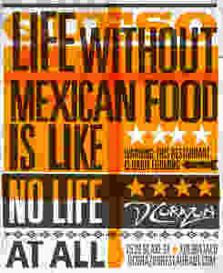 Mexican Restaurant Ad Graphic Designer