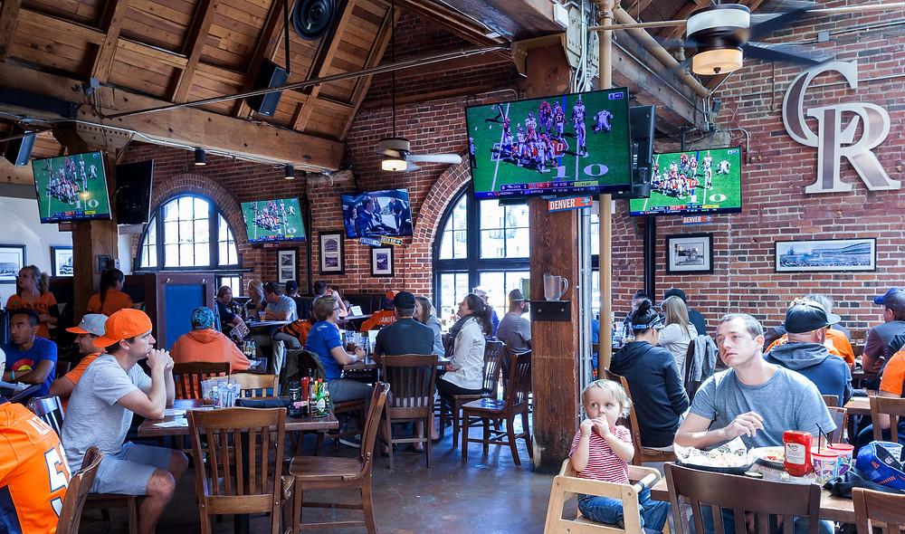 Denver's Best Sports Bar - Blake Street Tavern Broncos Fans