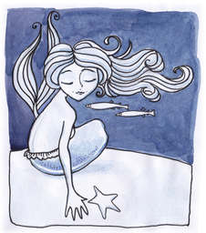 Denver Illustrator – Mermaid