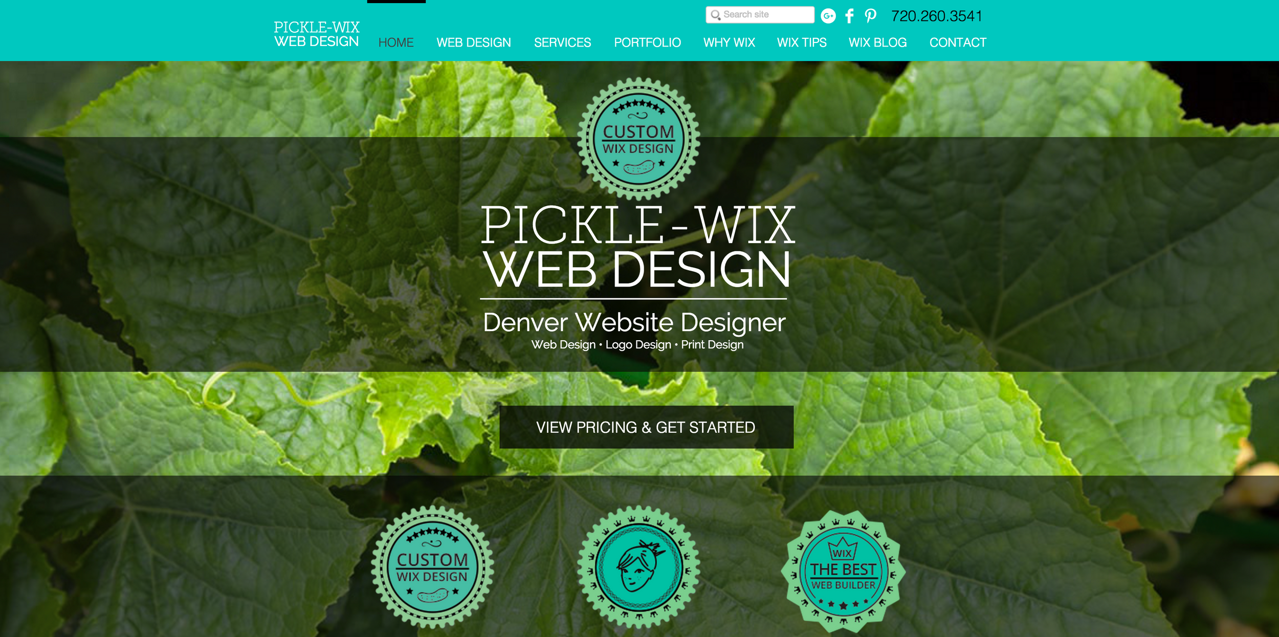 Wix Designer | Denver Web Design | Pickle-Wix Web Design