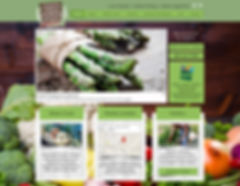 Wix Website Design for Farmers Market