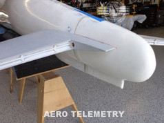 Horizontal Stabilizer and tail cone section for Aero Telemetry 747 Air Force