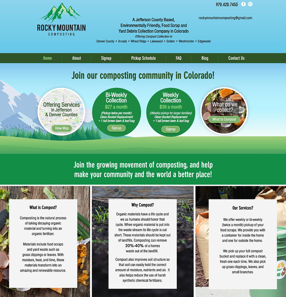 Eco Friendly Website Design