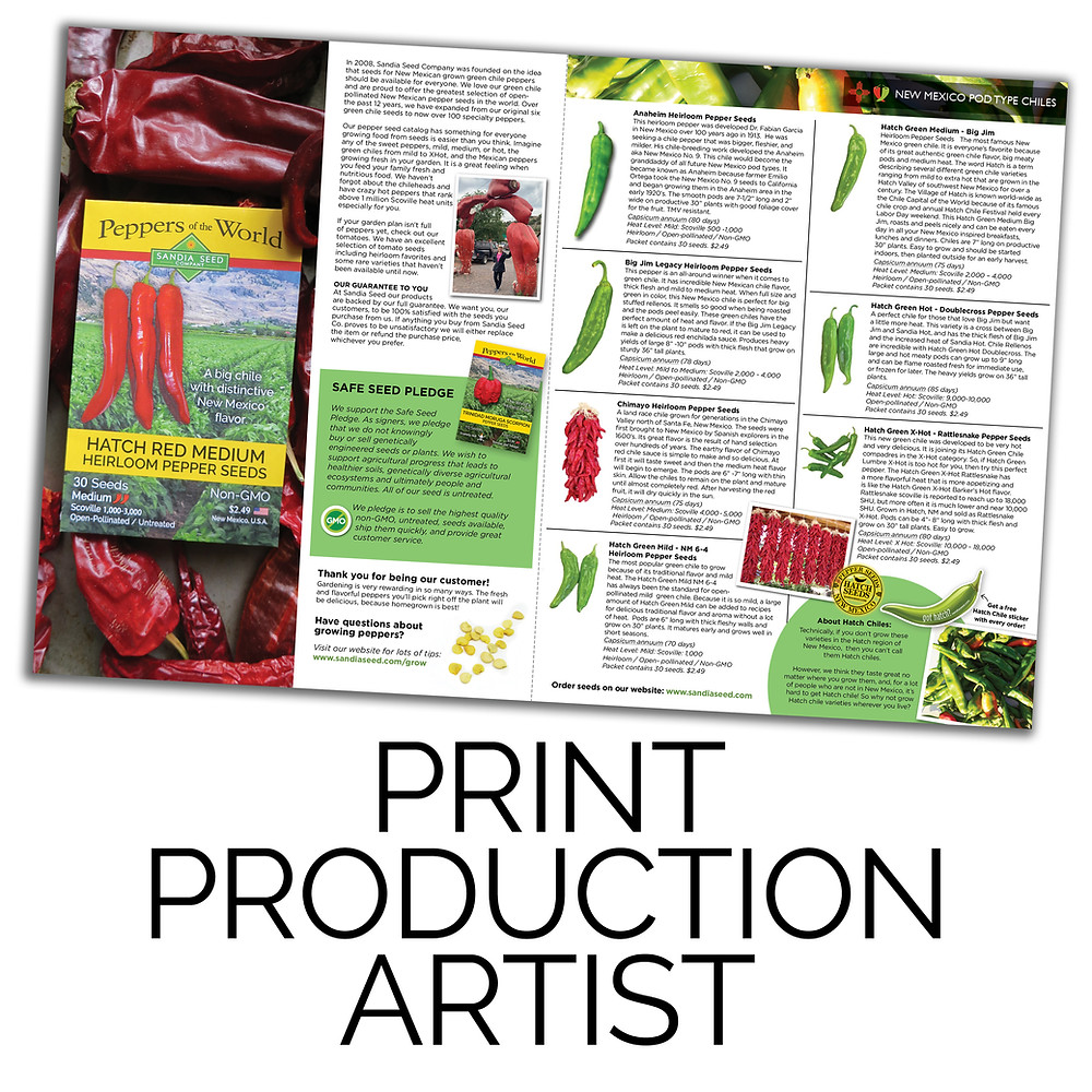 Print Production Artist