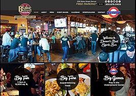 Denver Website Designer for Bar & Restaurant