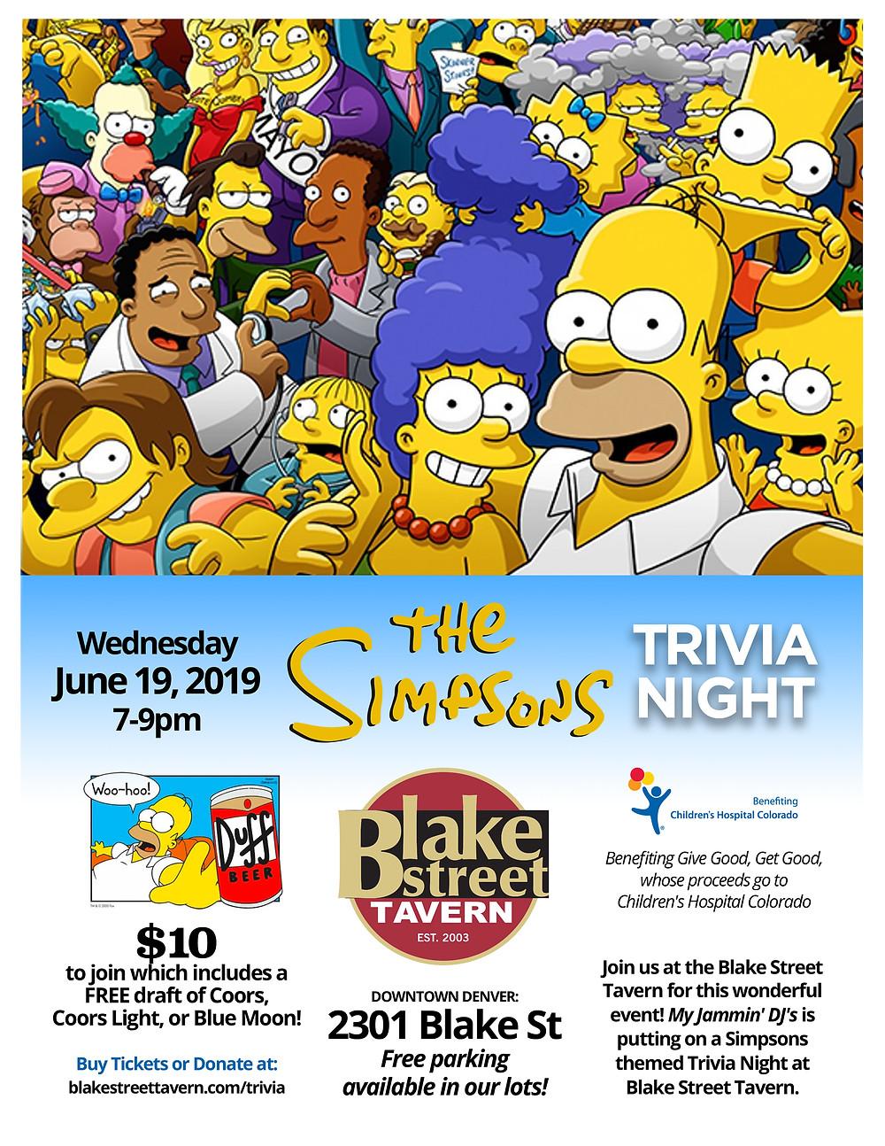 Denver Trivia: The Simpsons