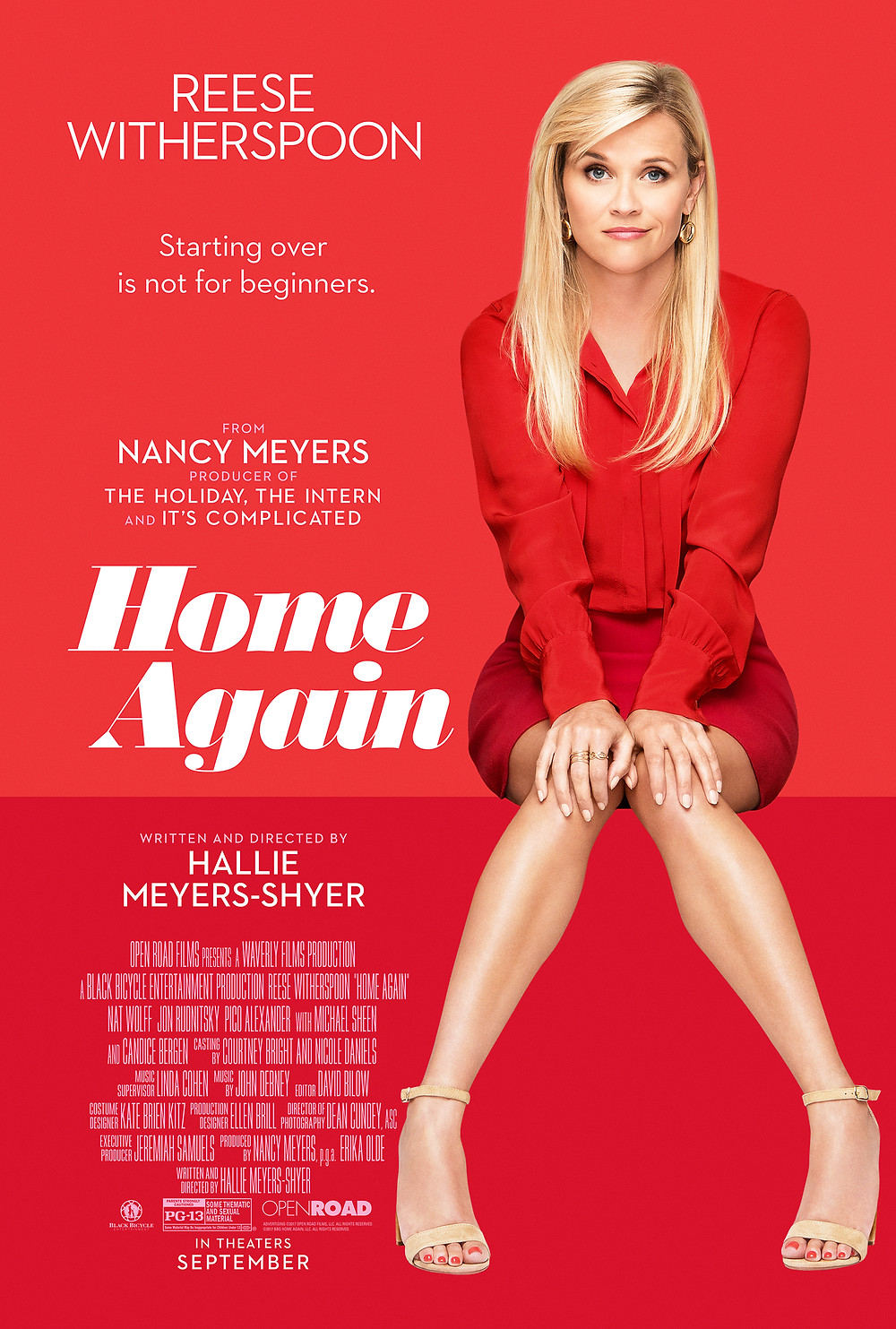 Reese Witherspoon used Wix in Home Again