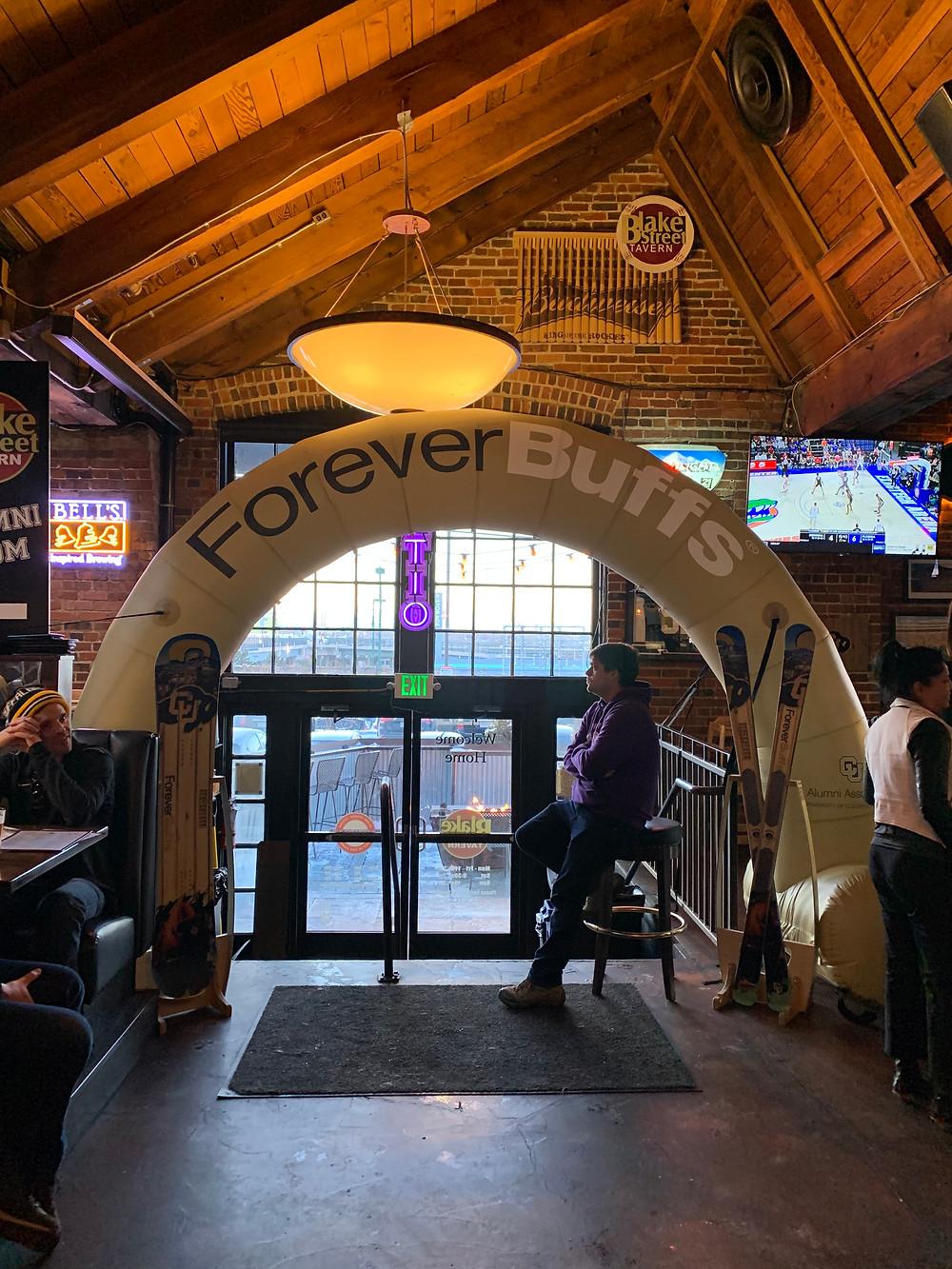 Watch CU Buffs at Blake Street Tavern in Downtown Denver