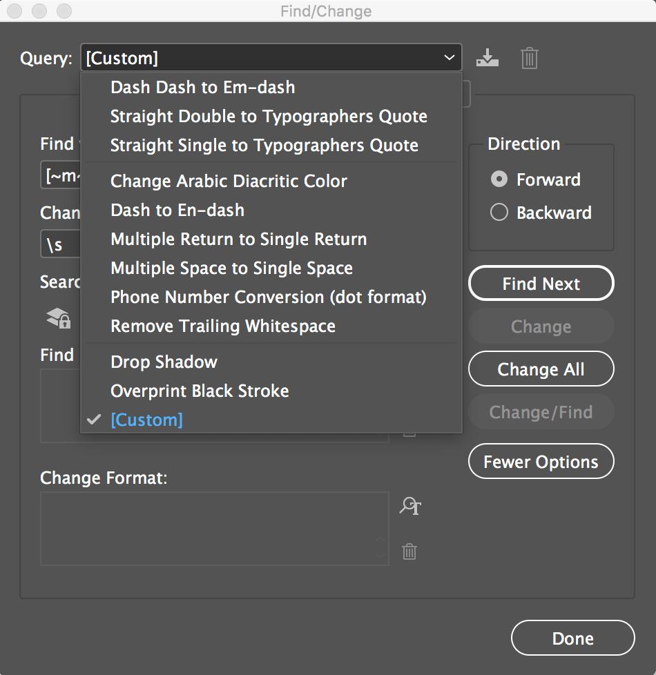 Graphic Designer Tip: InDesign Find/Replace Tip