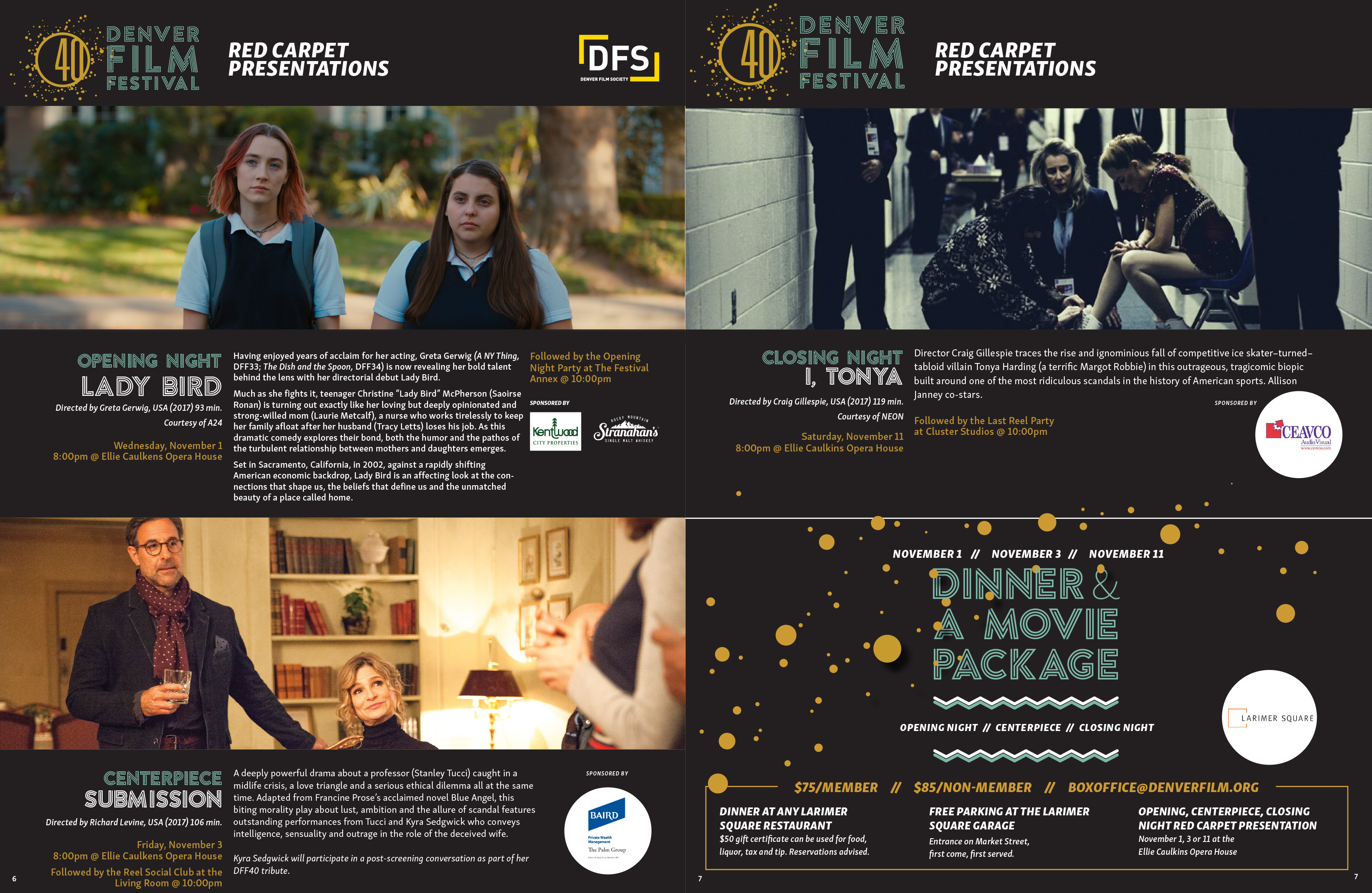 Catalog Designer for Film Festival