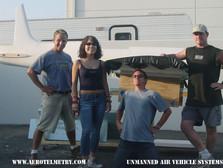 The talented Aero Telemetry H1 Racer sculpting team. Jon, Justine, Johnny, & Ian