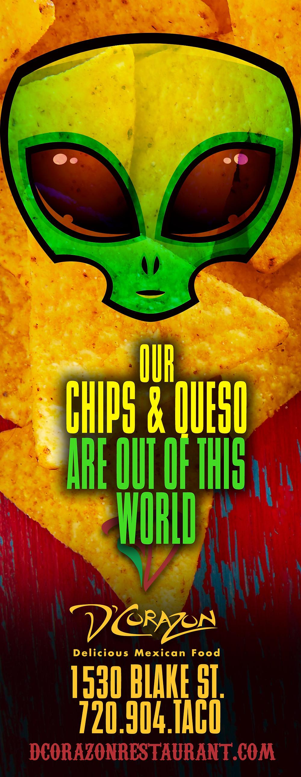 Mexican Restaurant Ad Design - Graphic Designer in Denver
