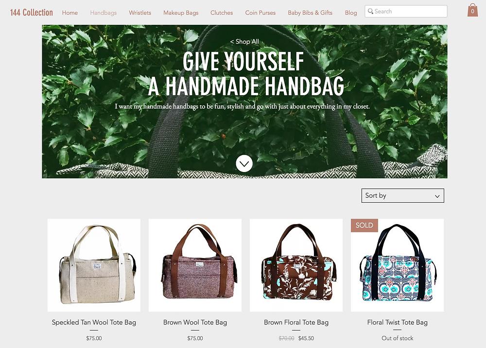 Handmade Handbags made in USA