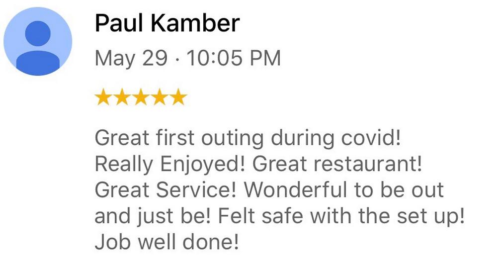 Best Restaurant during Covid-19 - 5 Star Review for Blake Street Tavern in Denver