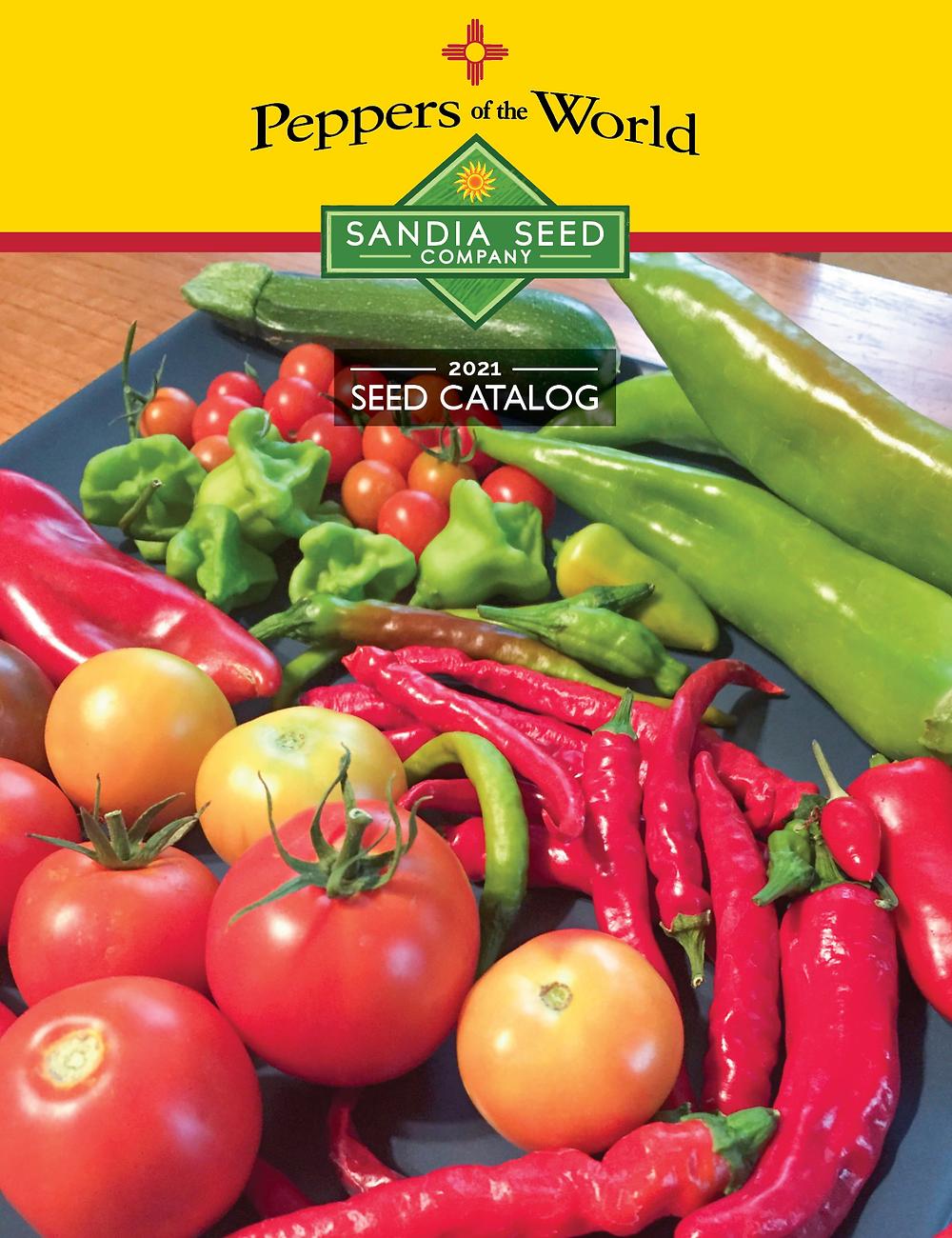 Product Catalog Design for Sandia Seed Company