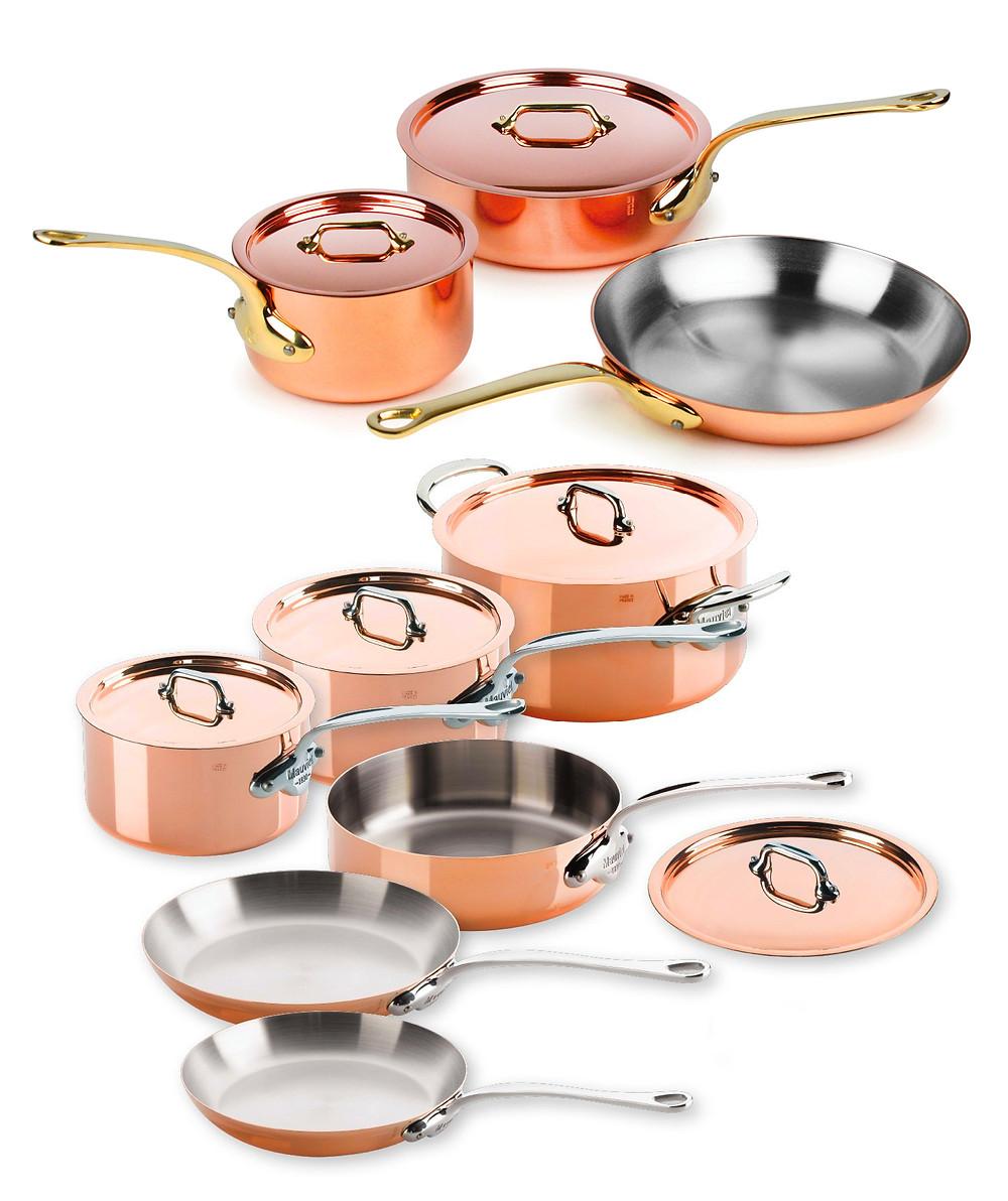 Mauviel Copper Cookware Set - Nashville