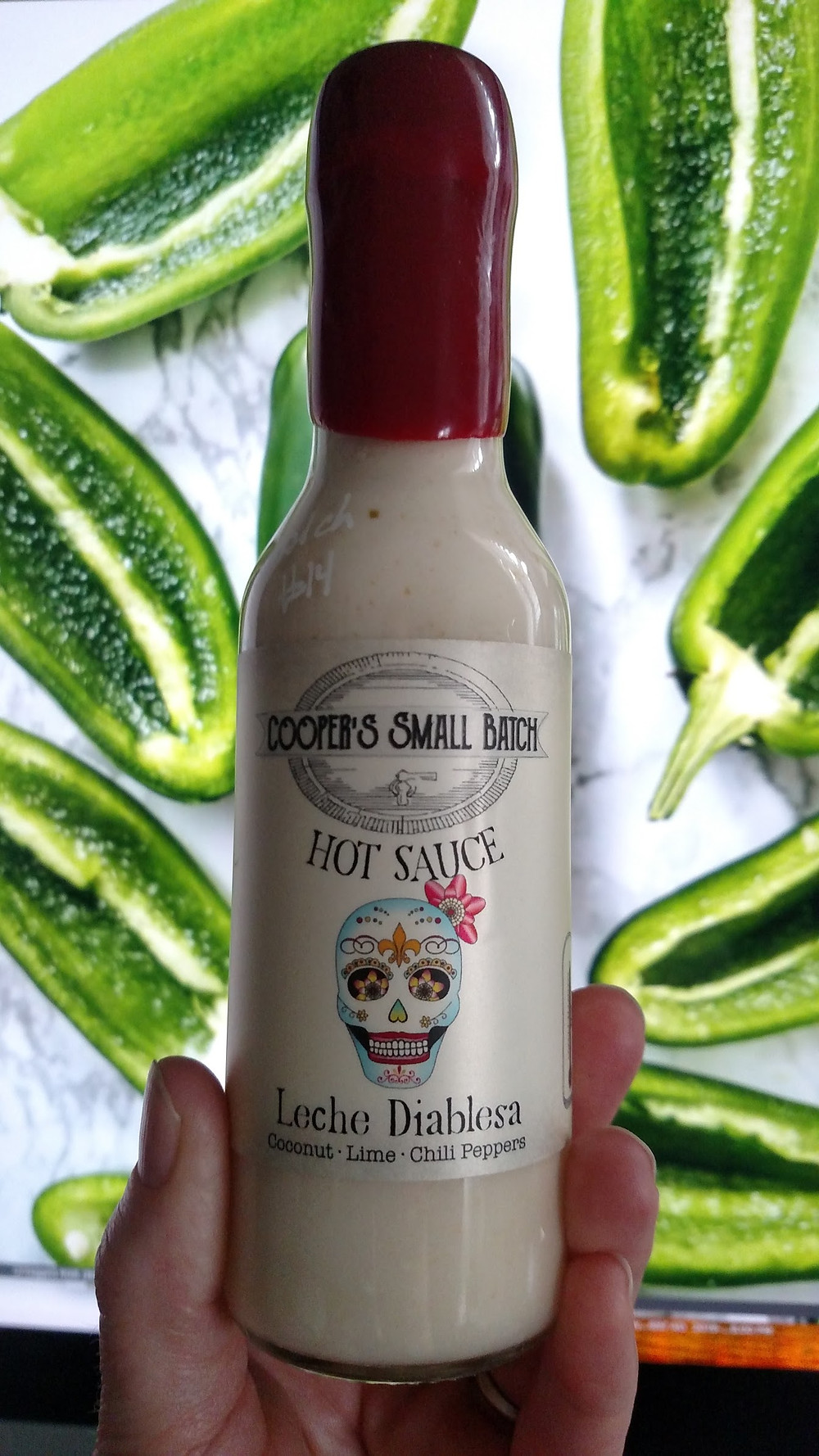 Creamy Jalapeño Sauce - Leche Diablesa from Cooper's Small Batch Hot Sauces
