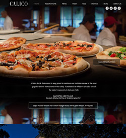 Denver Website Design - Restaurant