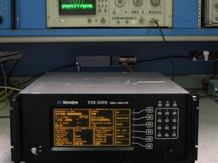 We use Microdyne TSS-2000 Signal Simulators