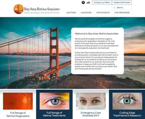 Website Design Template for Doctor Office