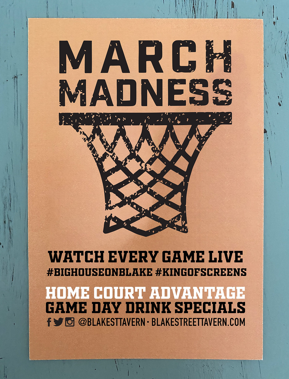 March Madness - Denver - at Blake Street Tavern