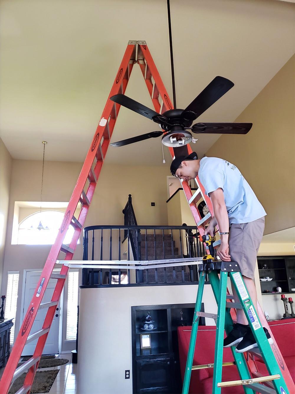 Ceiling Fan Installation in Coarsegold, CA