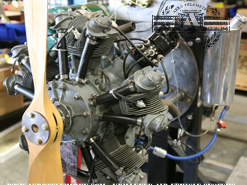 1/2 Scale H-1 Racer engine, Vintage 5 cylinder radial, circa 1935