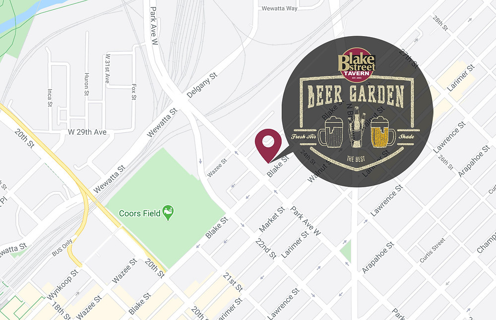 Denver's Best Beer Garden  at Blake Street Tavern