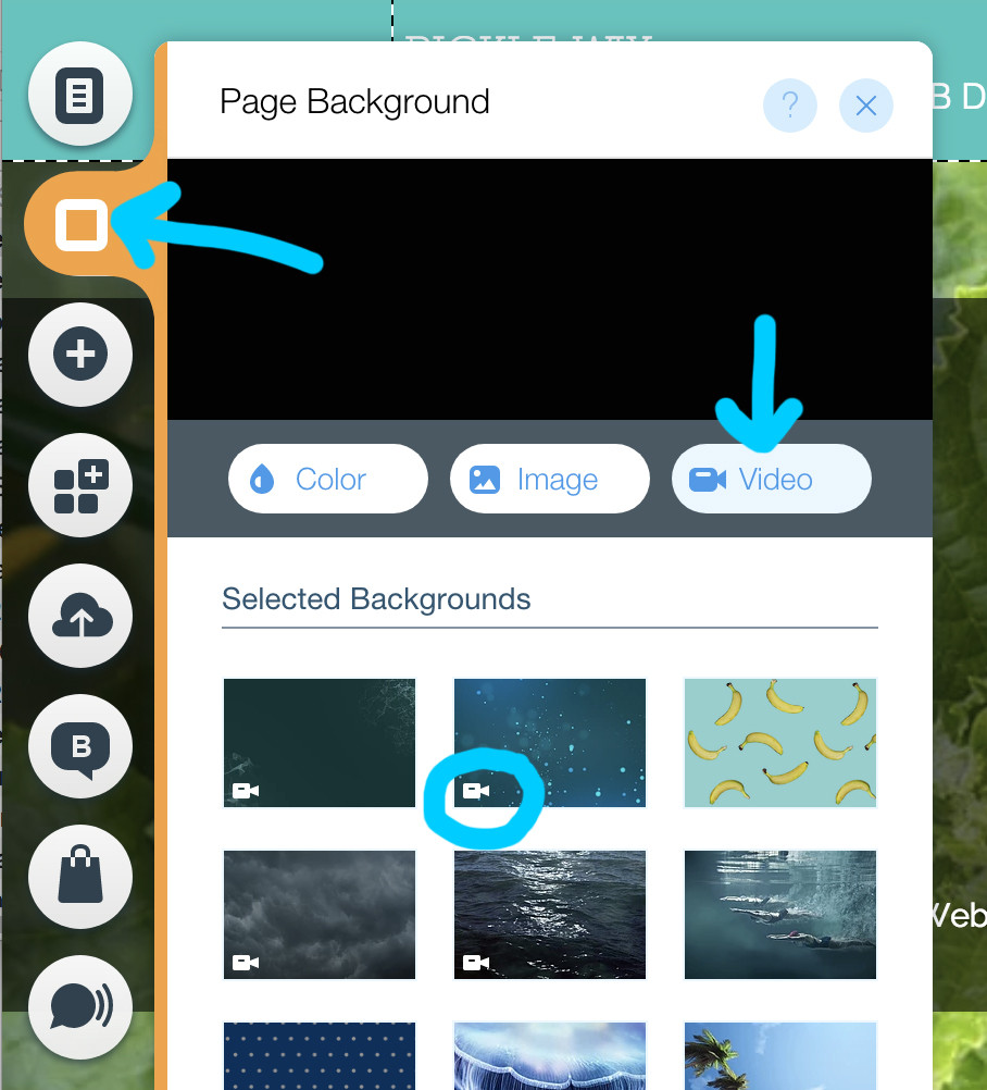 Wix Designers Tip: Wix Video Backgrounds