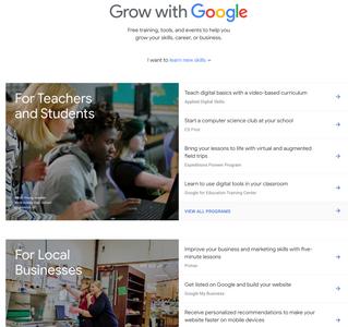 Grow with Google - Free Google Training