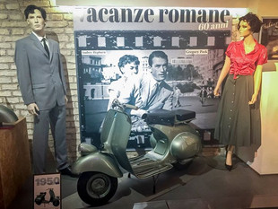 Of course everyone knows Roman Holiday.