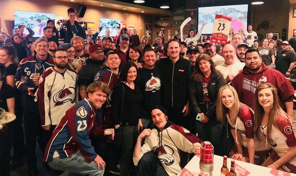 Denver's Best Sports Bar - Blake Street Tavern Avalanche Fans