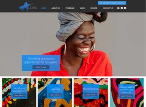 Website Design Template for Career Website