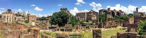 Roman Forum. Once the heart of ancient R