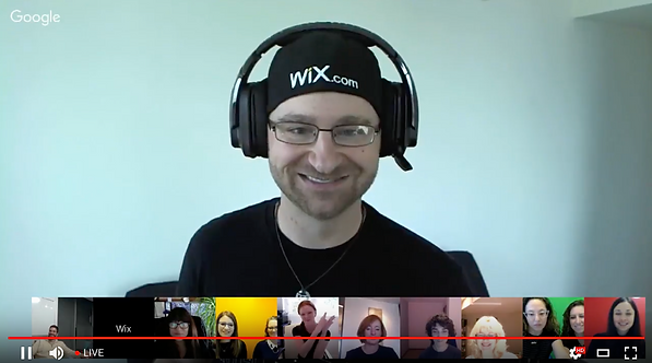 Wix Professional Design Community Meetup on YouTube