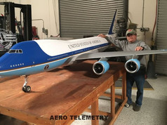 One of our best guys, been with us for 20 years. Master Craftsman Horace Fleck with the 747 beauty. Well done Horace!