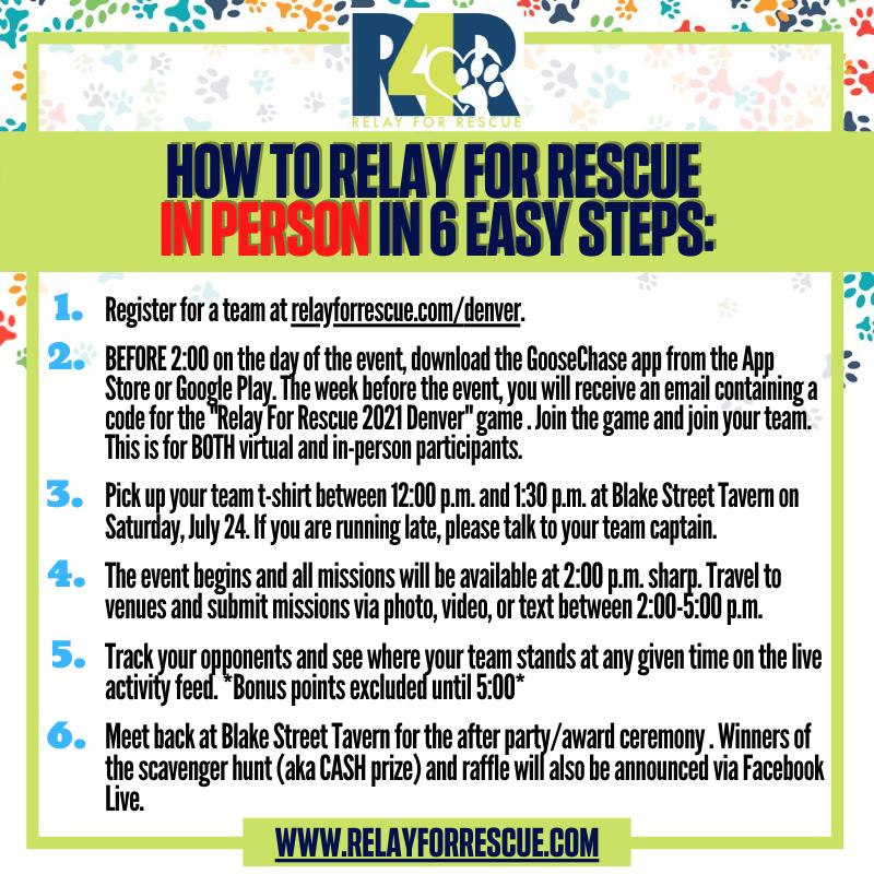 Relay for Rescue - Denver - at Blake Street Tavern