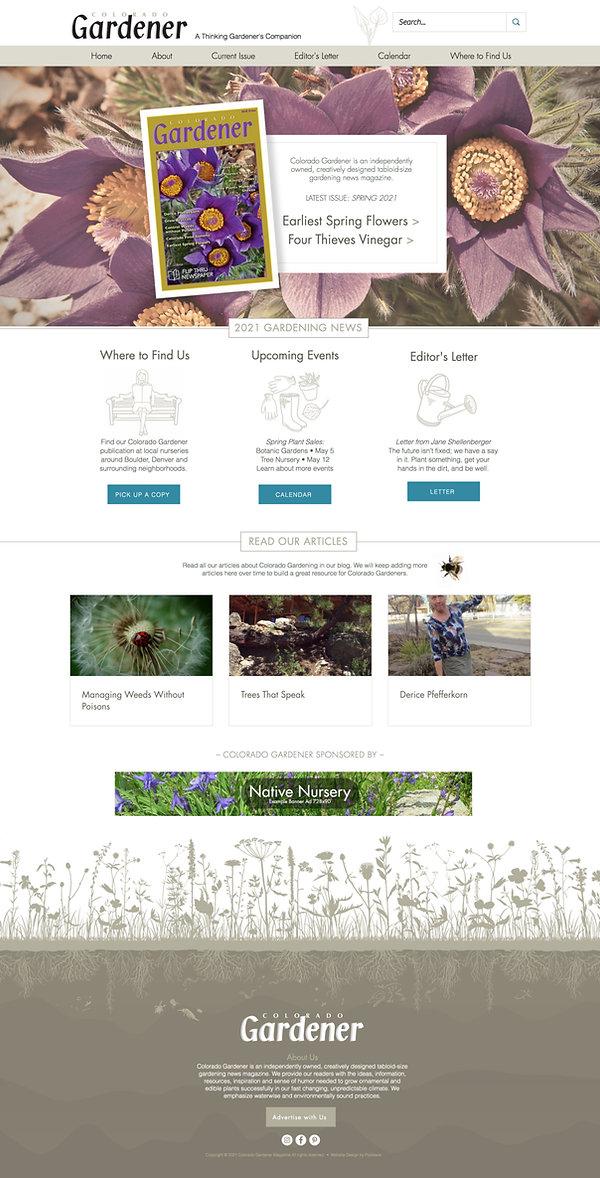 Best Wix Websites for Garden Magazine