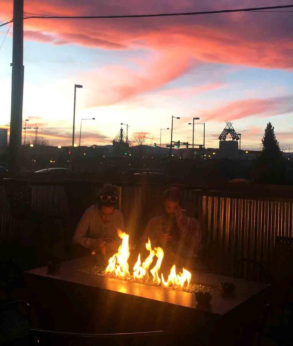 Best Restaurant Patio in Denver with Firepit