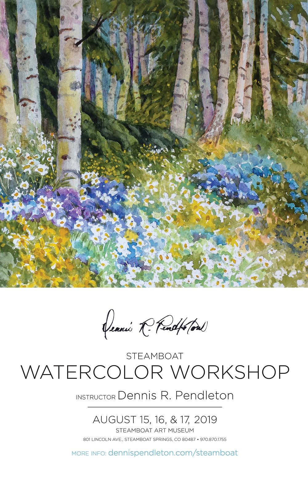 Steamboat Watercolor Workshop 2019