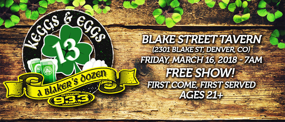 Denver Keggs & Eggs at Blake Street Tavern