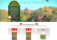 Farm Website Design for Maple Syrup Farm