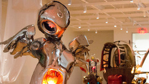 Iconic Chrome Sculpture Art Show at Western State Colorado University