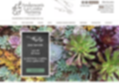 Denver Web Design - for Garden Nursery